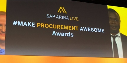 SAP Ariba Live Manutan Make Procurement Awesome Awards