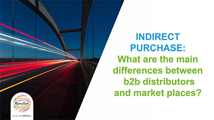 Distributors vs. marketplace: what are the differences for the buyer?